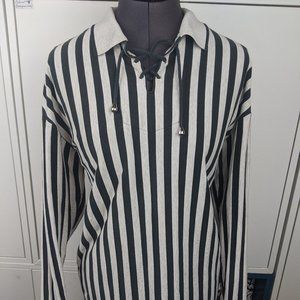 1990's Striped Top